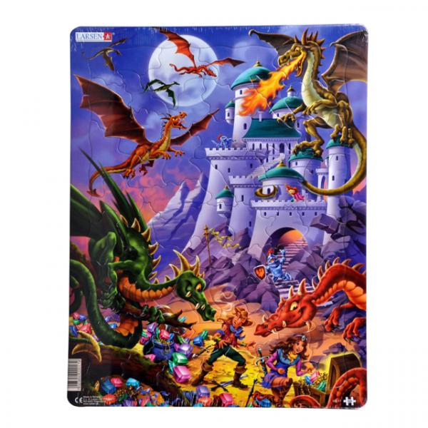 50 Parça Maxi Puzzle : Ejderhalar
